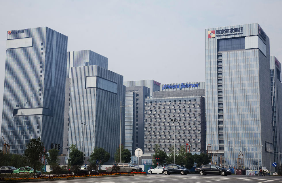 Ningbo financial center